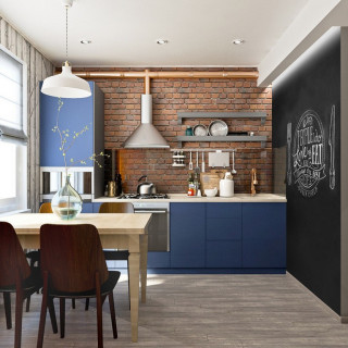Кухня лофт №22