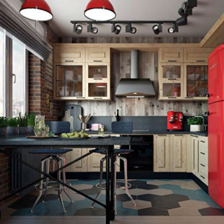 Кухня лофт №11