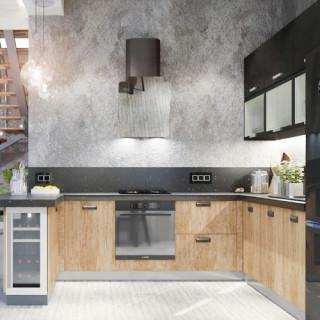Кухня лофт №15