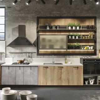 Кухня лофт №16