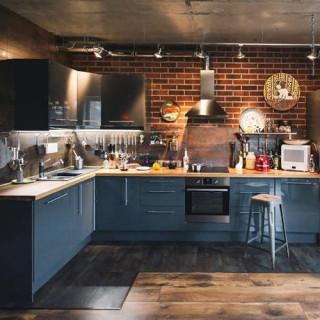Кухня лофт №1