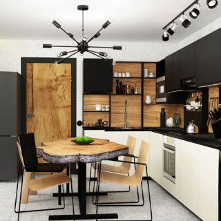 Кухня лофт №2