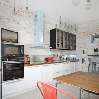 Кухня лофт №5