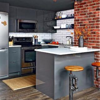 Кухня лофт №8