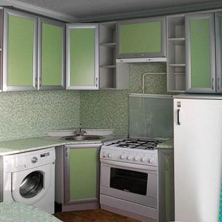 Маленькая кухня 11