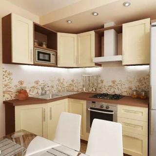 Маленькая кухня 12