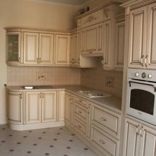 Кухонный гарнитур с патиной №11