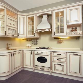 Кухонный гарнитур с патиной №13
