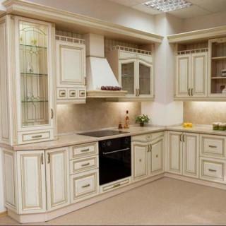 Кухонный гарнитур с патиной №15