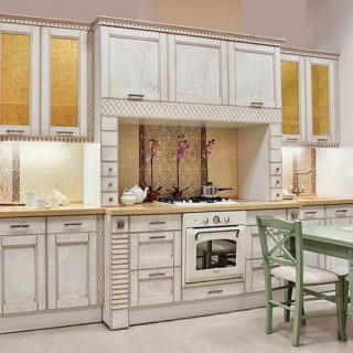 Кухонный гарнитур с патиной №18