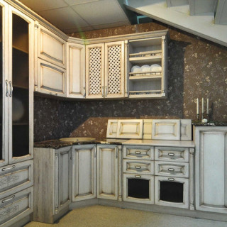 Кухонный гарнитур с патиной №21