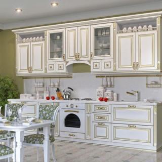 Кухонный гарнитур с патиной №22
