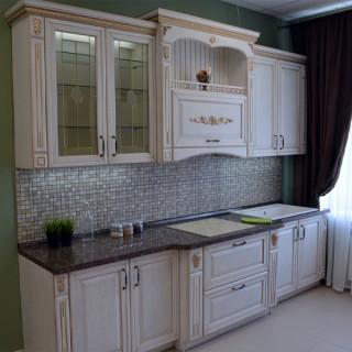 Кухонный гарнитур с патиной №23