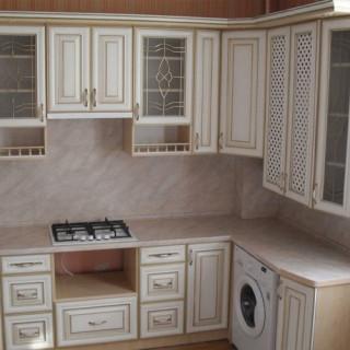 Кухонный гарнитур с патиной №25