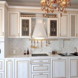 Кухонный гарнитур с патиной №28