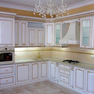 Кухонный гарнитур с патиной №30