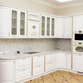 Кухонный гарнитур с патиной №32