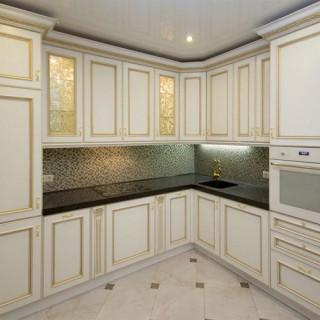 Кухонный гарнитур с патиной №33