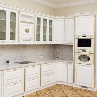 Кухонный гарнитур с патиной №35
