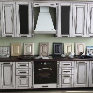 Кухонный гарнитур с патиной №36