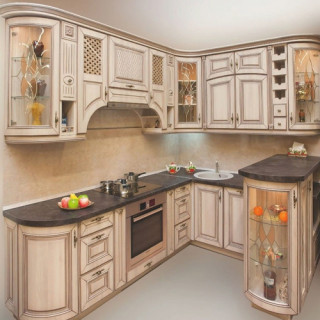 Кухонный гарнитур с патиной №5