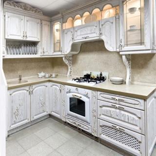 Кухонный гарнитур с патиной №6