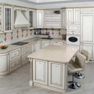 Кухонный гарнитур с патиной №7